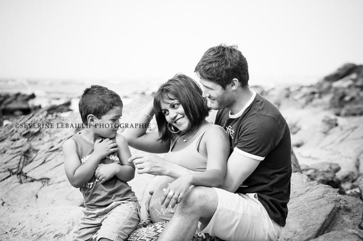 Photographe maternité Hendaye